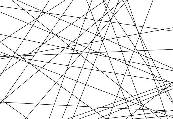 flat line art