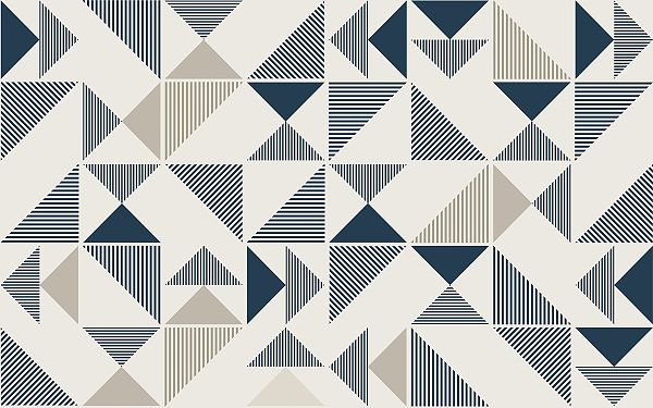 Repeating irregular shapes form a pattern