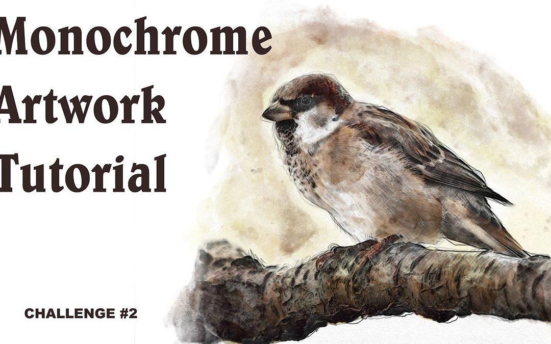 Creating Monochrome Artworks