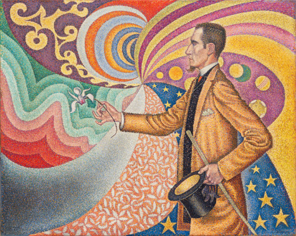 Paul Signac pointillism painting