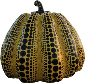 pumpkin with dot art