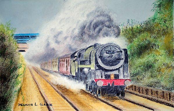 smoke of steam train indicates movement