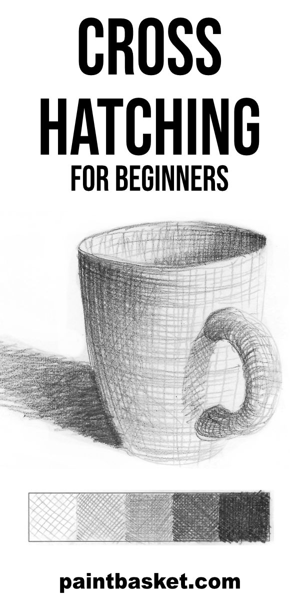 Cross hatching for beginners tutorial. In this tutorial you will learn what cross hatching is and how you can use it to draw quich, fun sketches..  art concept, art challenge, art tutorial, art basics