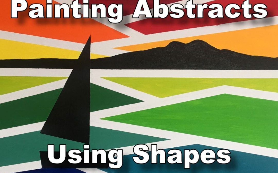 Painting Abstracts Using Shapes