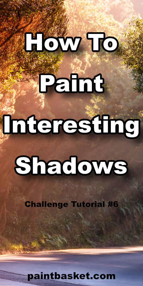 Learn how to make your paintings look amazing by adding realistic light effects into your shadows.  art concept, art challenge, art tutorial, art basics