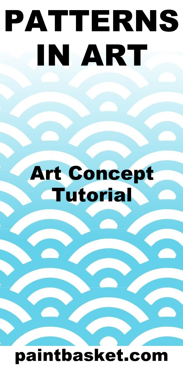 Learning about patterns and how you can use them to create awesome artworks.  art concept, art challenge, art tutorial, art basics