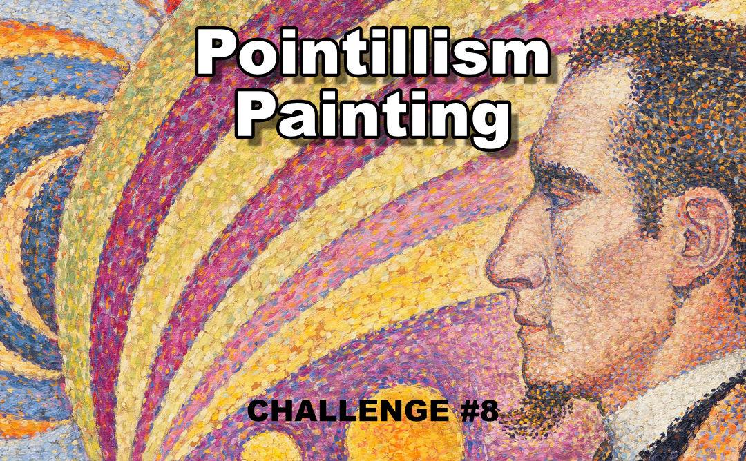 Pointillism Techniques Challenge Tutorial